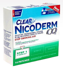 Are nicoderm patches bad for you